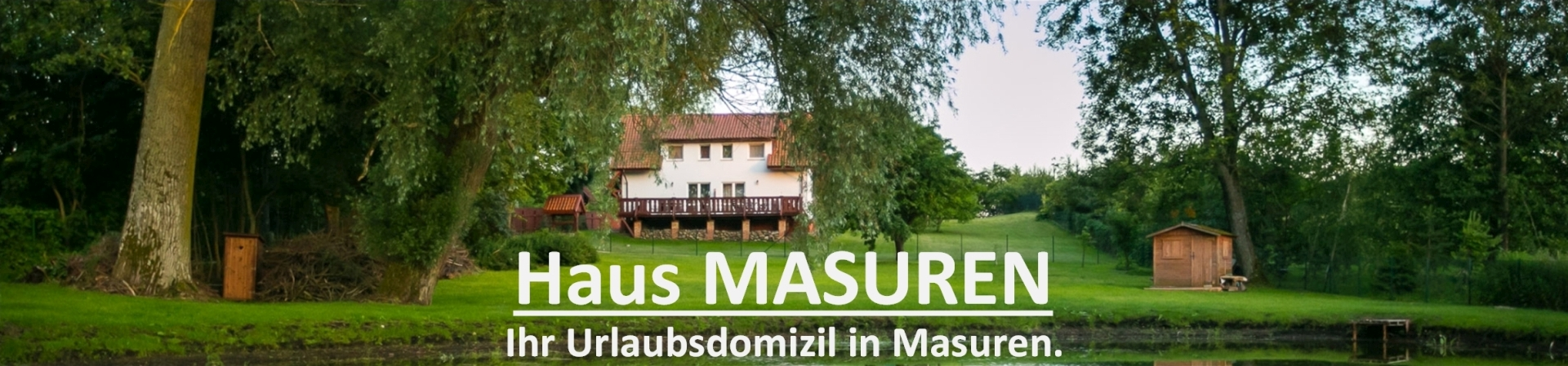 Apartment Haus Masuren in Polen